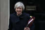 Theresa May, le 1er février à Londres.