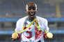 Mo Farah s'inquiète. Le deux fois double champion olympique des 5000m et 10000m, à Rio 2016 (photo) et à Londres (2012) réside et s'entraîne aux Etats-Unis. Originaire de Somalie, il est directement concerné par le décret signé par Donald Trump.