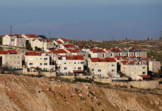 La colonie israélienne de Maale Adumim, le 3 février 2017.