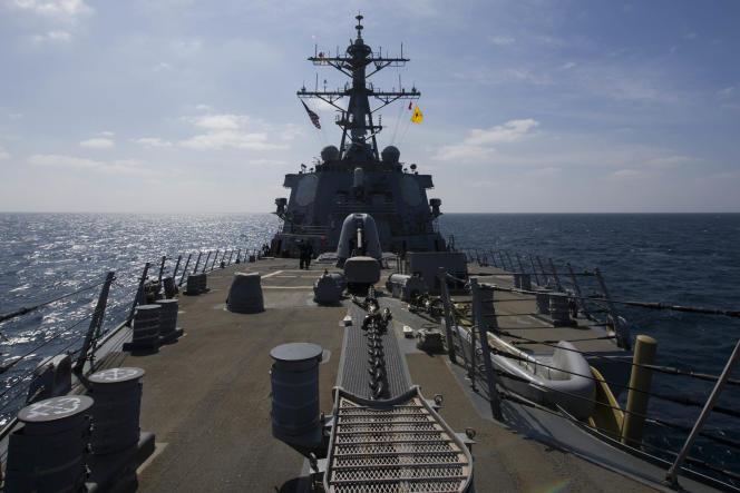 Le destroyer américain «USS Cole», en janvier.