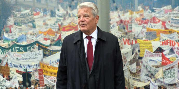 Joachim Gauck, à Berlin, le 9 octobre 2016.