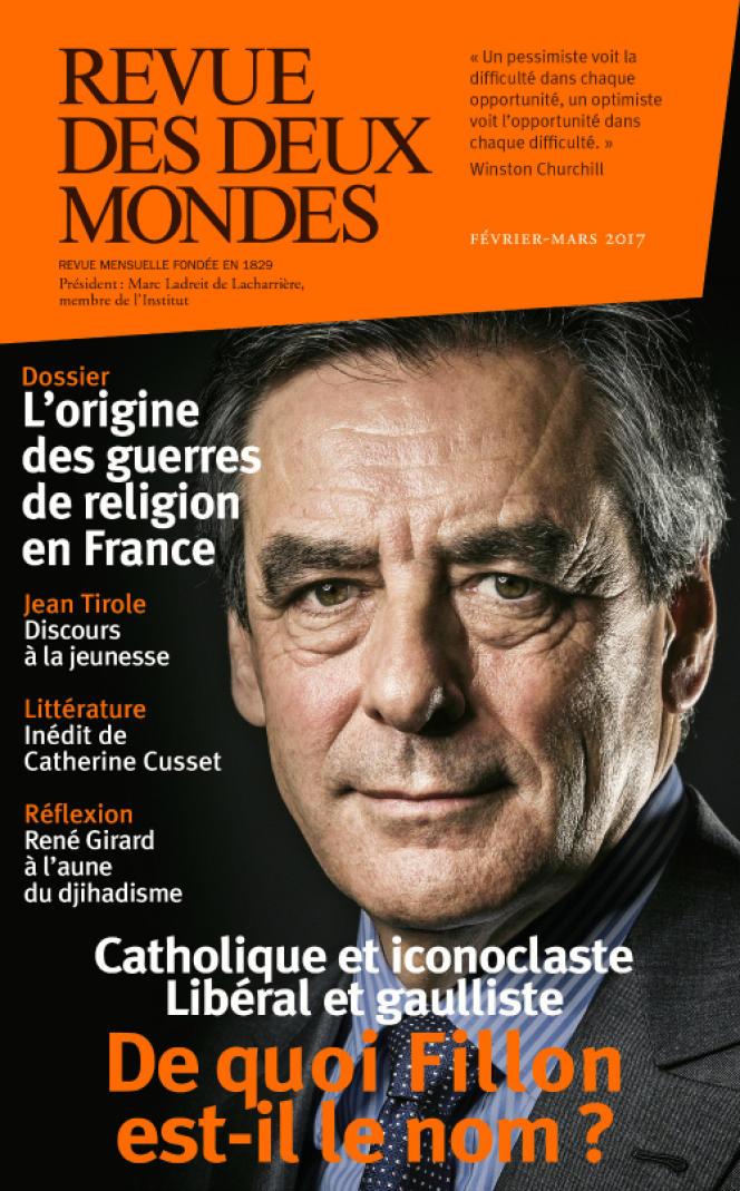 La couverture du numéro daté février-mars 2017 de la« Revue des deux mondes».