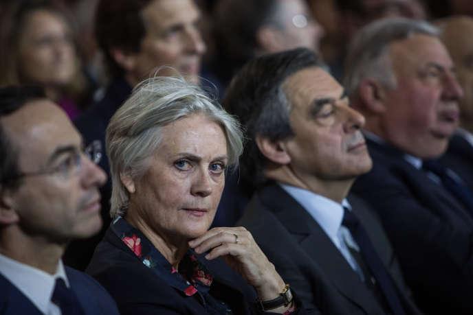 Lors du meeting de François Fillon, à la porte de la Villette, le 29 janvier 2017.