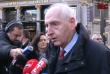 Michel Cadot, le préfet de police de Paris s'est rendu sur les lieux de l'attaque du Carrousel du Louvre, le 3 février.