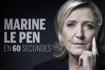 La carrière de Marine Le Pen en 60 secondes.