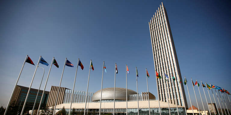 Le siège de l'Union africaine à Addis-Abeba, en Ethiopie.
