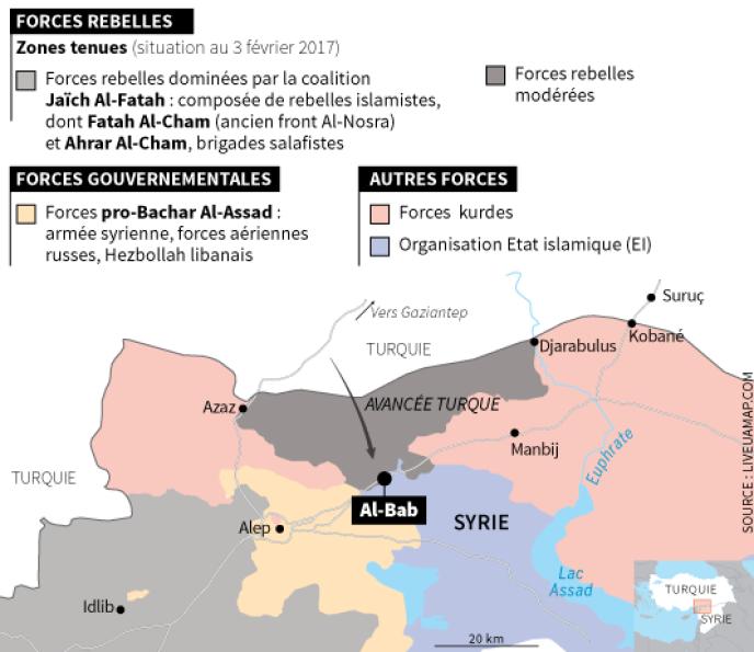 L'offensive d'Ankara piétine dans le nord de la Syrie.