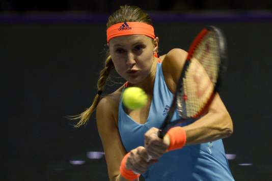 Kristina Mladenovic, dimanche 5 février.