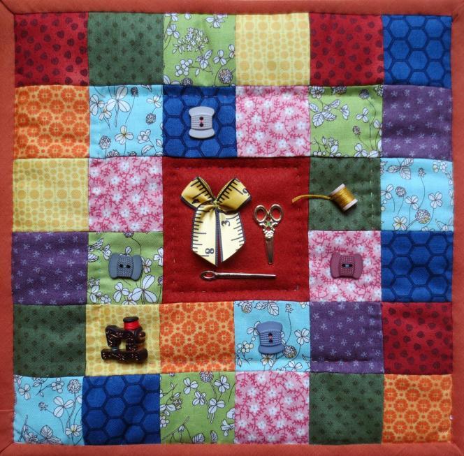 Un kit de patchwork.