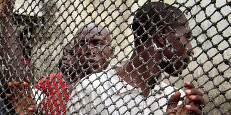 Dans la prison centrale de Douala, au Cameroun, en mars 2006.
