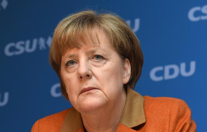 Angela Merkel, le 6 février, à Munich.