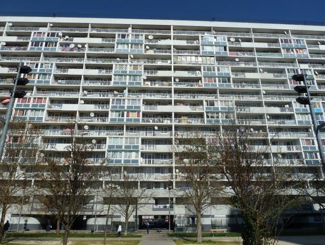 La «cité des 4000» de La Courneuve fait partie des 25% de quartiers à rénovation urbaine (QRU), dans lesquels les démolitions ont été les plus intenses.
