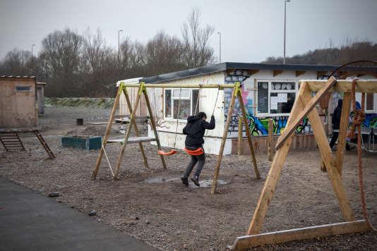 Le camp de la Linière à Grande-Synthe (Nord), qui a ouvert ses portes en mars 2016.