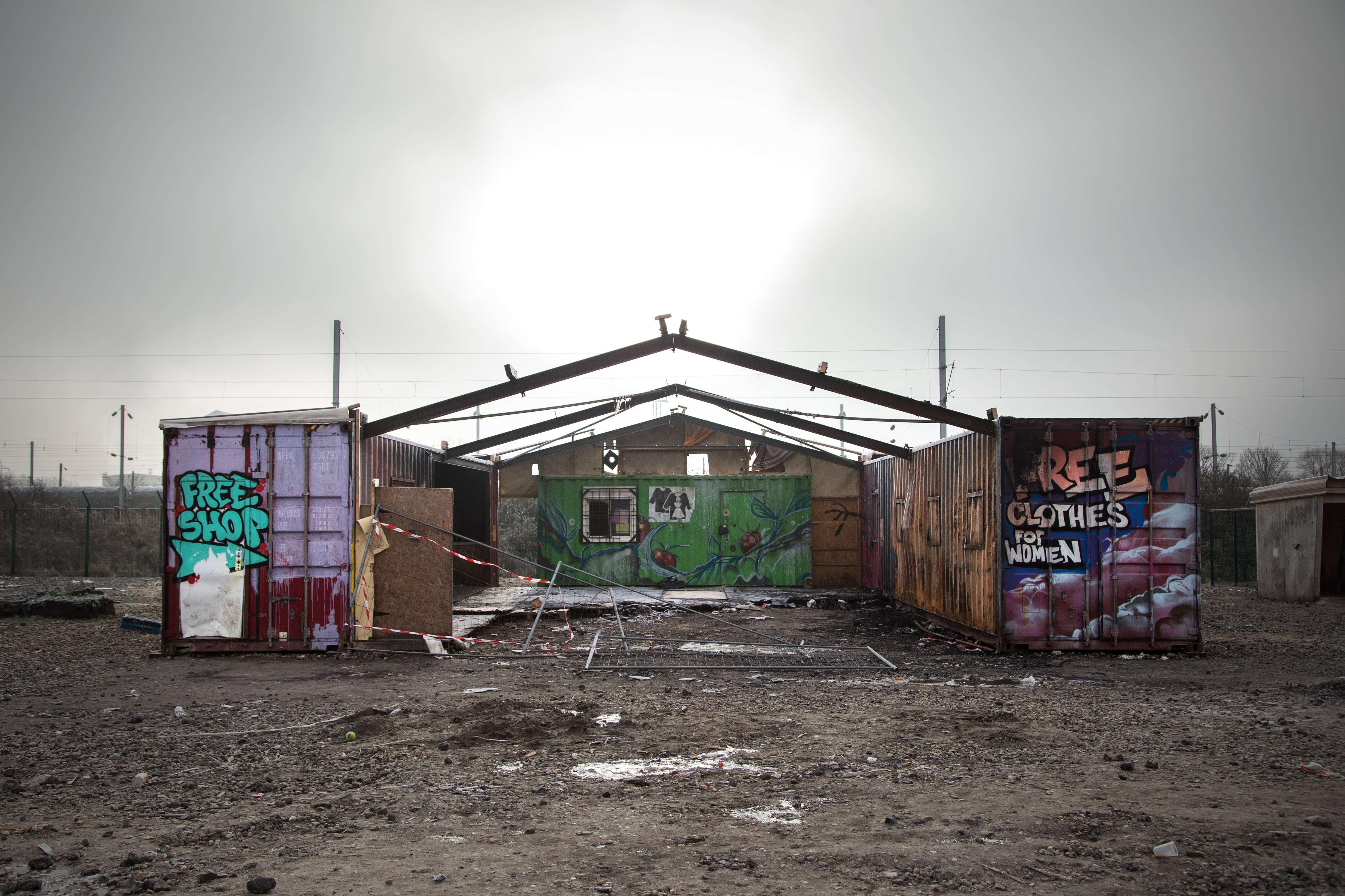 Le Woman Center, qui a brûlé accidentellement au cours du mois de janvier.