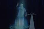 Jean-Luc Mélenchon apparait en meeting sous forme d'hologramme