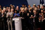 « La petite musique est désormais bien établie: analyser les idées et le programme du FN pour en faire ressortir les incohérences, notamment en matière économique, serait au mieux inutile, au pire contre-productif». (Photo : Discours de Marine Le Pen, lors des Assises présidentielles de Lyon, le dimanche 5février).