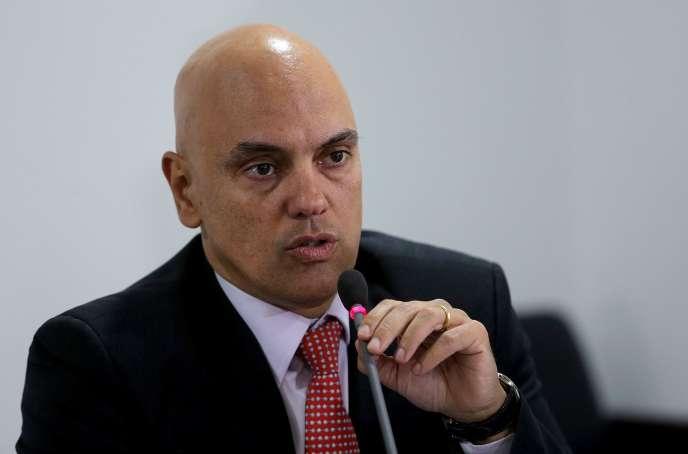 Alexandre de Moraes, en 2016.