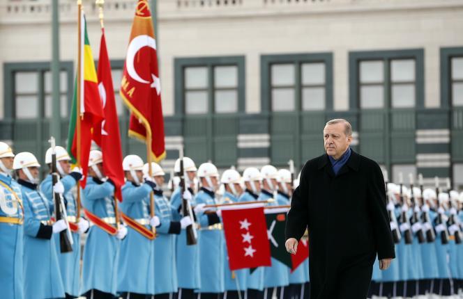 Le président Recep Tayyip Erdogan, le 7 février à Ankara.