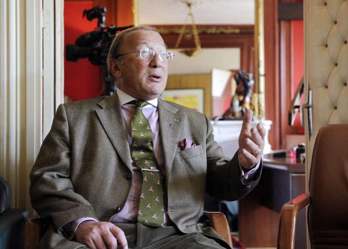 L'avocat Olivier Schnerb en mai2011 à Paris.
