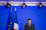 François Fillon à son QG de campagne à Paris le 6 février.
