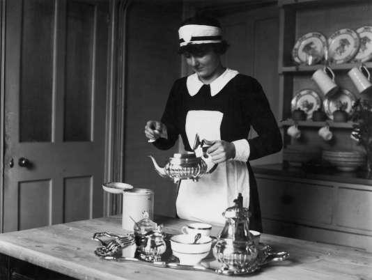 En Angleterre, années 1920.