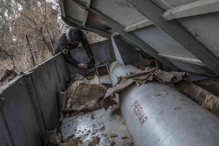 Une trentaine de missiles d'origine russe ont été découverts par les forces spéciales irakiennes sur le site des ruines de Ninive, où un laboratoire de fabrication de produits chimiques, dont peut-être du gaz moutarde, avait été installé par l'EI.