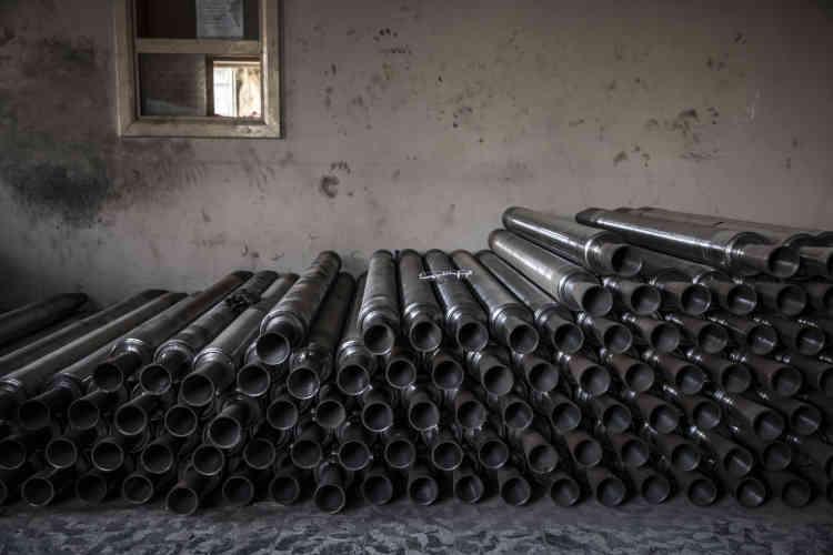 Des pièces de munition de l'EI dans une maison particulière du quartier Mohandessine.