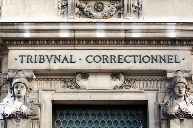 Le tribunal correctionnel de Paris, en janvier 2011.
