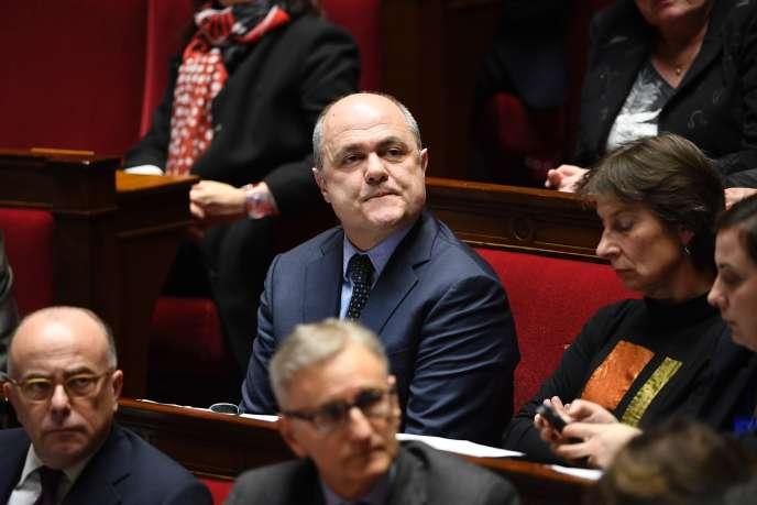 Bruno Le Roux, à l'Assemblée nationale, le 7 février.