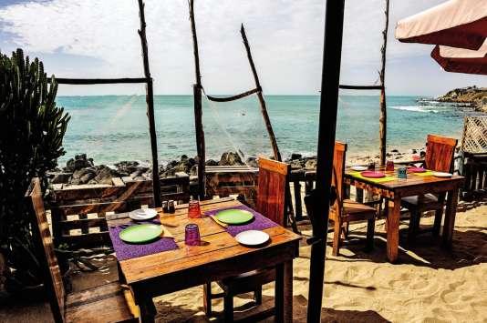 Le restaurant So'Beach.Corniche des Almadies.