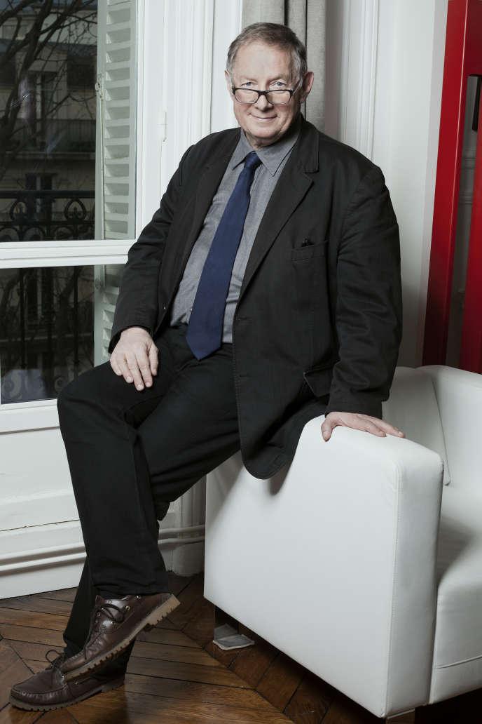 Romain Gherardi, à son domicile, lundi 6 février.