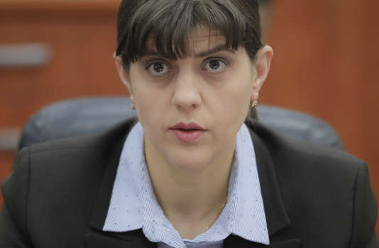 Laura Codruta Kövesi,la chef du parquet national anticorruption, le 31 janvier.