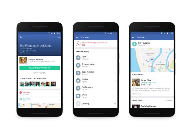 La fonctionnalité« Community Help» de Facebook sera déclenchée en cas de crise.