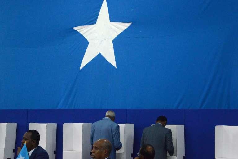 Les parlementaires somaliens en train de voter, le 8 février 2017.