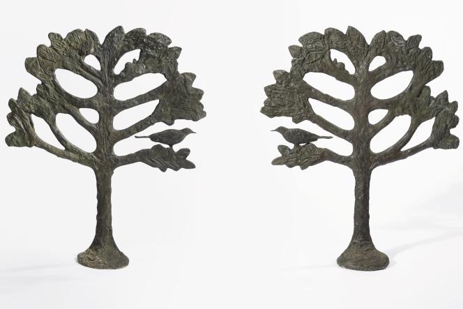 Diego Giacometti : «Arbres à l'oiseau et à l'escargot», vers 1968. Estimation : entre 300 000 et 500 000 euros.