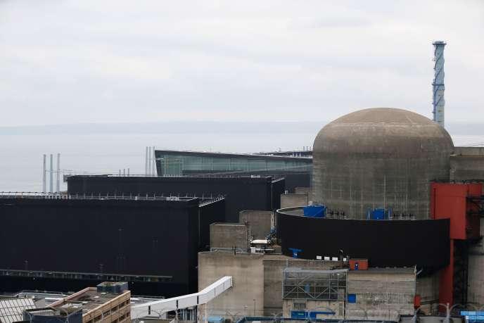 Le réacteur 1 de Flamanville (Manche), le 9 février.