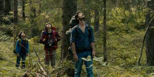 «Le pays s'est intéressé au sujet, non pas parce qu'il s'inquiétait de la pollution urbaine ou industrielle, mais parce qu'il faisait face à un problème de déforestation» (Photo: Timothé Vom Dorp,Théo Van de Voorde etJérémie Elkaïm dans le film «Dans la forêt», de Gilles Marchand, en2017).