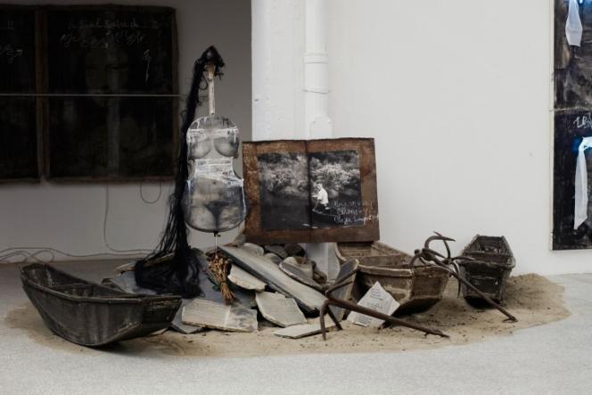 Une installation de Gao Bo.