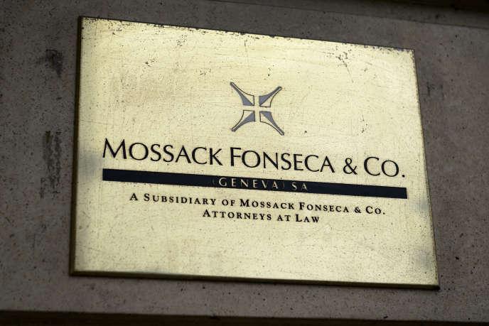 Les bureaux genevois de Mossack Fonseca, en Suisse, en juin 2016.