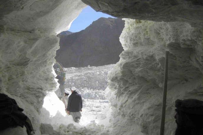 Une mine de talc à Nangarhar, la province à l'est de l'Afghanistan d'où provient le talc acheté par Imerys.