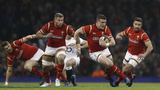 Tournoi des six nations l angleterre s impose en fin de match au pays de galles 21 16 - Rugby coupe des 6 nations ...