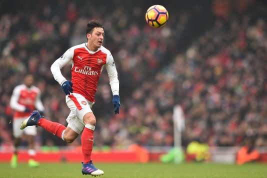 Le Gunner Mesut Ozil n'a marqué aucun but en 2017.
