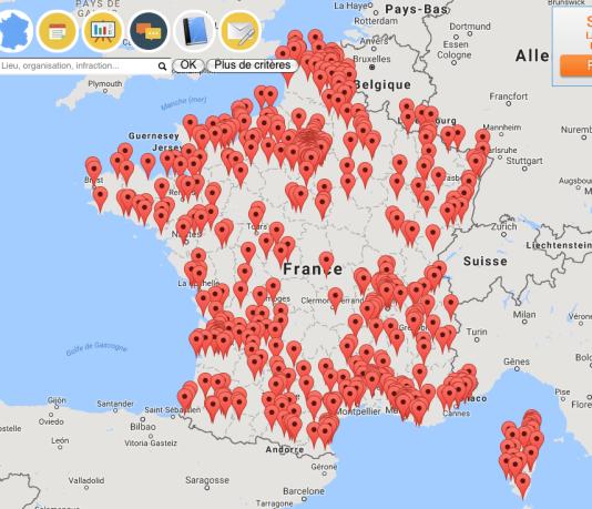 Avec 660 affaires recensées (dont 440 depuis 2014), la carte publiée par Transparency France dessine le paysage contrasté de la corruption sur le territoire.