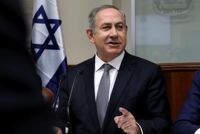 Benyamin Nétanyahou, le 12 février à Jérusalem.