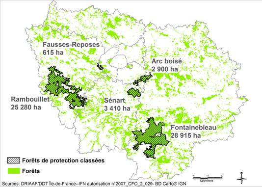 61 000 hectares de forêts de protection en Ile-de-France