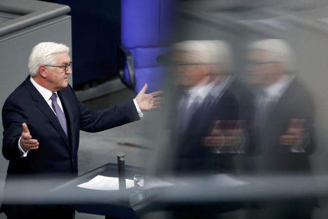 Frank-Walter Steinmeier le 12 février à Berlin.