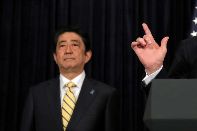 Shinzo Abe, le premier ministre japonais, le 11 février 2017.