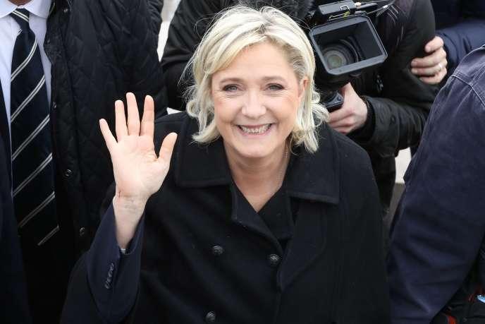 Marine Le Pen, le 13 février.