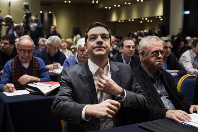 Le premier ministre grec, Alexis Tsipras, à Athènes, le 11 février.