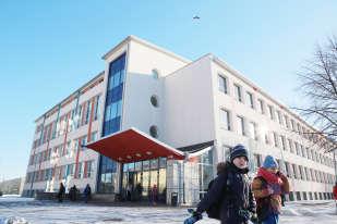 L'écolePelgulinna, à Tallinn, en Estonie, le 7 février. Au début des années 1990, l'établissement était en perte de vitesse. Sous l'impulsion de son directeur, aidée par la fondation Tiger Leap, elle a introduit des nouvelles technologies dans tous les enseignements, dès le primaire.